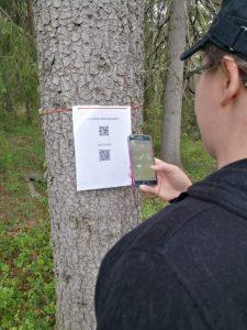 QR-koodien toiminnan testaus